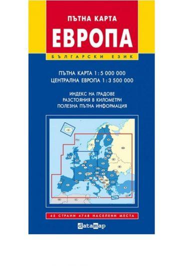 Datamap Ptna Karta Na Evropa